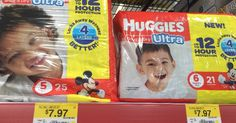 Huggies diapers at Walmart for only $4.97! - https://www.momscouponbinder.com/huggies-diapers-walmart-4-97/ #coupons #couponing #couponcommunity