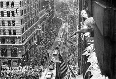 Apollo 11 parade, NYC. Aug. 13, 1969. [Photo: Jack Manning/NY Times]