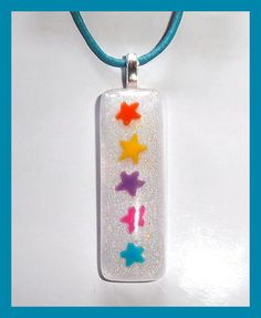 Shooting Stars Charmer Childrens Necklace by PBJewels on Etsy, $5.00