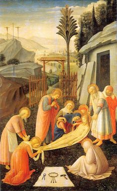 Entombment of Christ by Fra Angelico