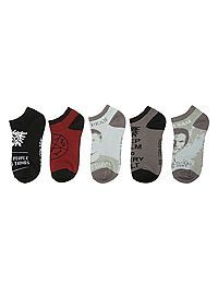 HOTTOPIC.COM - Supernatural No-Show Socks 5 Pair