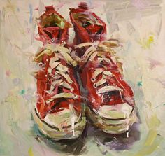 The Pepper Gallery - Paul Wright, red high tops,