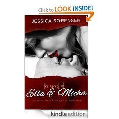 The Secret of Ella and Micha [Kindle Edition], (contemporary romance, jessica sorensen, romantic suspense, romance, love, friendship, women, bad boy, erotic contemporary romance, alpha male)
