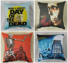 Horror pillow Horror Merch, Zombie Gifts, The Fl, Horror Nights, Horror House, First Home, Macabre, Horror Movies, Fun Crafts