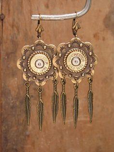 Bullet Casing Jewelry Southwest Style Bullet Casing by thekeyofa, $35.00