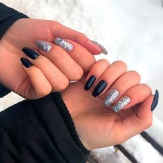 Black And Silver Mix For Coffin Nails ❤ 35+ Magnificent Coffin Nails Designs You Must Try ❤ See more ideas on our blog!! #naildesignsjournal #nails #nailart #naildesigns #nailshapes #coffins #coffinnails #coffinnailshapes Make Me Up, How To Make, Lipstick Jungle, Coffin Shape Nails, Nude Color, Beautiful One, Cool Nail Art, Nail Inspo, Nail Tips