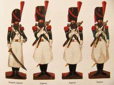 Connaissez-vous les petits soldats de Strasbourg ? Voici un exemple de ces petits personnages peints sur carton et représentant les armées françaises. Une source uniformologique originale et des plus fiables. Mais il y a encore plus à découvrir sur ce blog qui leur est consacré : http://petitssoldatsdestrasbourg.blogspot.fr/