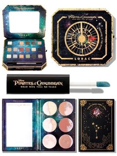 Lorac Pirates of the Caribbean Makeup Collection Summer 2017, летняя коллекция макияжа Lorac 2017