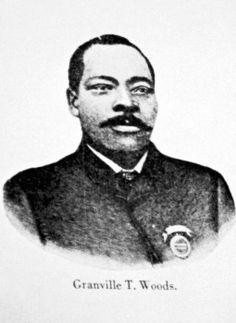 African American inventor Granville T. Woods. Woods was born in Columbus, Ohio in 1856. He and his brother formed the Woods Railway Telegraph Company in Cincinnati, Ohio in 1884. Woods received 35 patents for electrical and mechanical devices between 1884 and 1907.