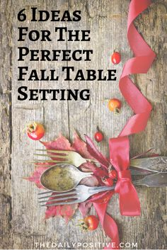 Burlap, apples, berries and pinecones- all perfect for your Fall tablescape! Love some of these unique ideas to bring Fall into your home.