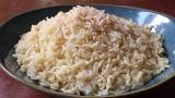Instead of just water, use some coconut milk and a bit of sugar in preparing your rice for a more-flavorful side dish. Goes great with curry.
