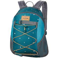DAKINE Wonder Pack Backpack (€32) ❤ liked on Polyvore featuring bags, backpacks, blue, school & day hiking backpacks, pocket backpack, mesh backpack, rucksack bag, blue backpack and backpacks bags