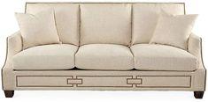 "Vesta 90"" Sofa - Beige - Massoud Furniture"