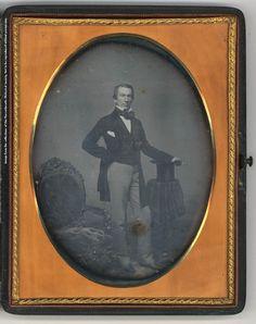 Leverett Saltonstall Daguerrotype by John Adams Whipple, 1853