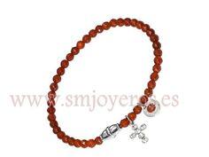 Pulsera Viceroy Fashion acero. Colección Ágata natural ambar marron.  REFERENCIA: 5063P01011  Fabricante: Viceroy