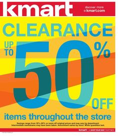 2d57f272b3f Kmart's newest Weekly Ad is available now. Sale valid 12 July - 18 July.