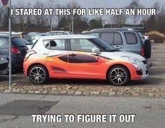 Lean back and it will pop for answer look down     ..............................................................................……………………………....................................................................................................................It is a mini car at the bottom