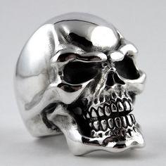 SIlver / Skull / Ring