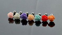 Rose Tragus Earring Jewelry barbell piercing by ThebestEver4U, $4.99
