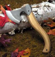 Features: Blade is investment-cast, high-carbon 440C stainless steel Blade is heat-treated and annealed to hold a knife-like edge Handle is secured by a hardened-steel set screw and spring-steel roll pin Handle is handcrafted masterpiece of laminated birch Includes swivel sheath