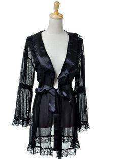 Anna-Kaci S/M Fit Black Sheer Mesh Long Sleeve Ruffle Trim Night Robe Cover-Up Anna-Kaci,http://www.amazon.com/dp/B00A1DS27Y/ref=cm_sw_r_pi_dp_hxzdsb0TFSR64F4C