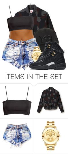 """Y-3"" by dajvuuloaf ❤ liked on Polyvore featuring art"
