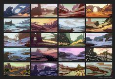 Environment Color Thumbnails