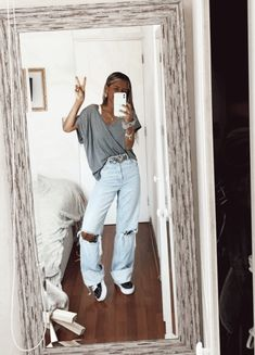 Simple Outfits, Outfits For Teens, New Outfits, Stylish Outfits, Spring Outfits, Cool Outfits, Fashion Outfits, Hot Day Outfit, Estilo Jeans