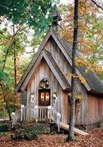 Mentone wedding chapel, Alabama.