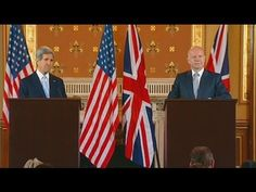 Feb 25, 2013     U.S. Secretary of State John Kerry delivers remarks with United Kingdom Foreign Secretary William Hague in London, United Kingdom.  A text transcript can be found at http://www.state.gov/secretary/remarks/2013/02/205156.htm