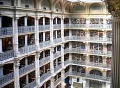 George Peabody Library – Baltimore, Maryland #libraries