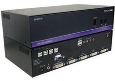 USB DVI KVM Switch DVNET Series DVN-4PS, 4 Port supports all the operating systems.