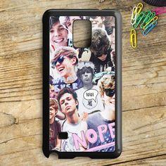 Ashton Irwin 5 Seconds Of Summer Samsung Galaxy Note 5 Case | armeyla.com