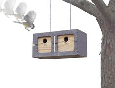 Mathew Zurlinden Cinder Block Bird House