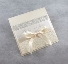Wedding invitations, Lace
