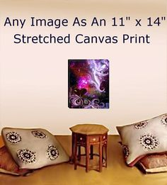 Stretched Canvas Print Reiki Wall Decor by primalpainter on Etsy, $90.00