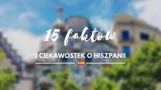15 faktów i ciekawostek o Hiszpanii.  Hiszpania jest często wybieranym kierunkiem podróży wśród wielu Polaków. Nic dziwnego, jest naprawdę piękna! Przygotowałam dla Was artykuł, w którym znajdziecie podstawowe fakty i ciekawostki o Hiszpanii. Po przeczytaniu dowiecie się najważniejszych informacji o kraju, z czego słyną Hiszpanie i jakie mają zwyczaje kulturowe. Zapraszam! Blog, Travel, Fotografia, Viajes, Blogging, Destinations, Traveling, Trips