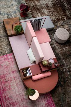 Modular sofa systems | Seating | Bikini Island | Moroso | Werner. Check it out on Architonic