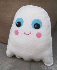 Felt Plush Kawaii Toy  Tilly the Friendly by ClaireyLouCreations, $16.00