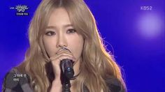 TAEYEON 태연_Front-Runner Stage 'I'_KBS MUSIC BANK_2015.10.16