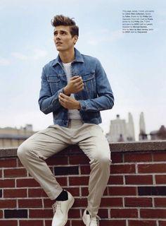 Gジャン スタイル   メンズファッションスナップ フリーク 男の着こなし術は見て学べ。