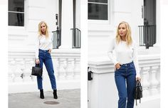 Todays Outfit – Mom Jeans & Cashmere