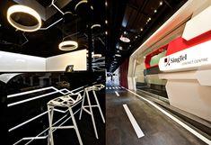 BREAKOUT AREAS! SingTel call centre by SCA Design, Singapore » Retail Design Blog