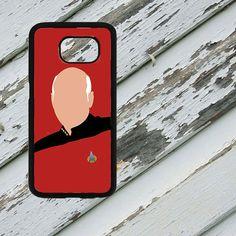 Star Trek Minimalist Picard Art on Samsung by EastCoastDyeSub