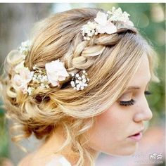 What are your thoughts on flowers as hair accessories?