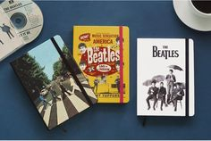 Beatles Hardcover Notes Notebook made by Aladin Abbey road Umbrella Chart topper