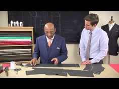 TAILOR'S TIPS by Vitale Barberis Canonico Episode 5: Jackets - YouTube
