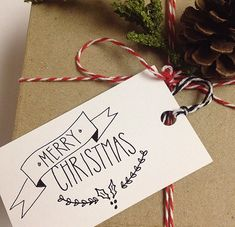 Merry Christmas Gift Tags, Christmas Gift Wrap, Merry Christmas, Set of 20 Merry Christmas Calligraphy, Merry Christmas Quotes, Merry Christmas Banner, Merry Christmas Greetings, Diy Christmas Cards, Christmas Gift Wrapping, Xmas Cards, Christmas Christmas, Instagram