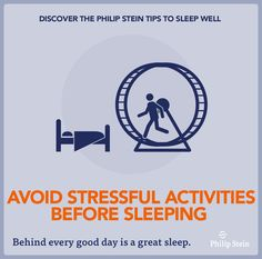 Stop Stressing and try the new #philipstein #sleepbracelet for improved sleep