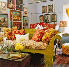 <p>Loving collectors and a visionary decorator create an exotic interior bursting with passion and color</p>